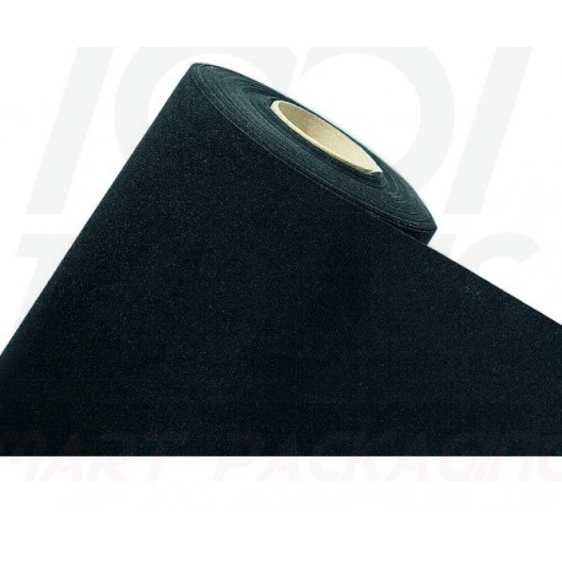 Rouleau de Table Intissé 50*1,20m Noir