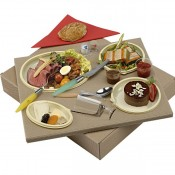 Kit Coffret Galaxie Polaris 4 Assiettes Transparentes 375*310*65mm