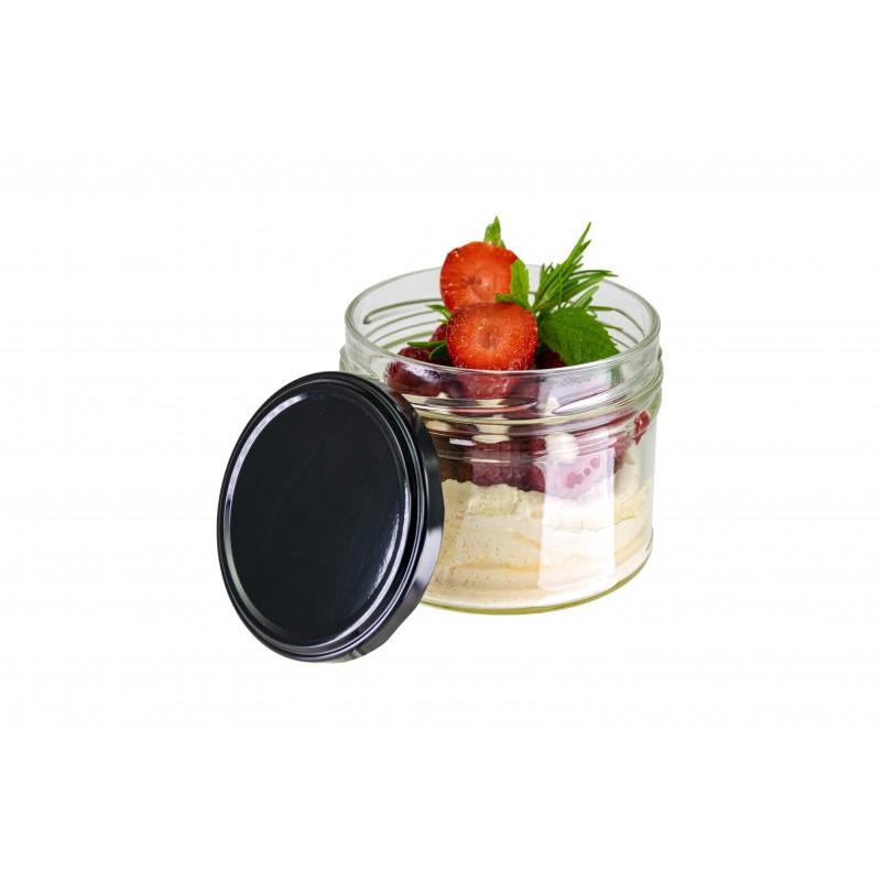 Petite Cuillère Baroque Noire 143mm