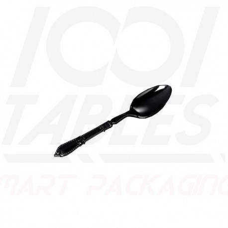 Mini Cuillère Baroque Noire 110mm