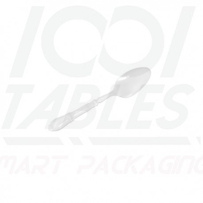 Mini Cuillère Baroque Blanche 110mm