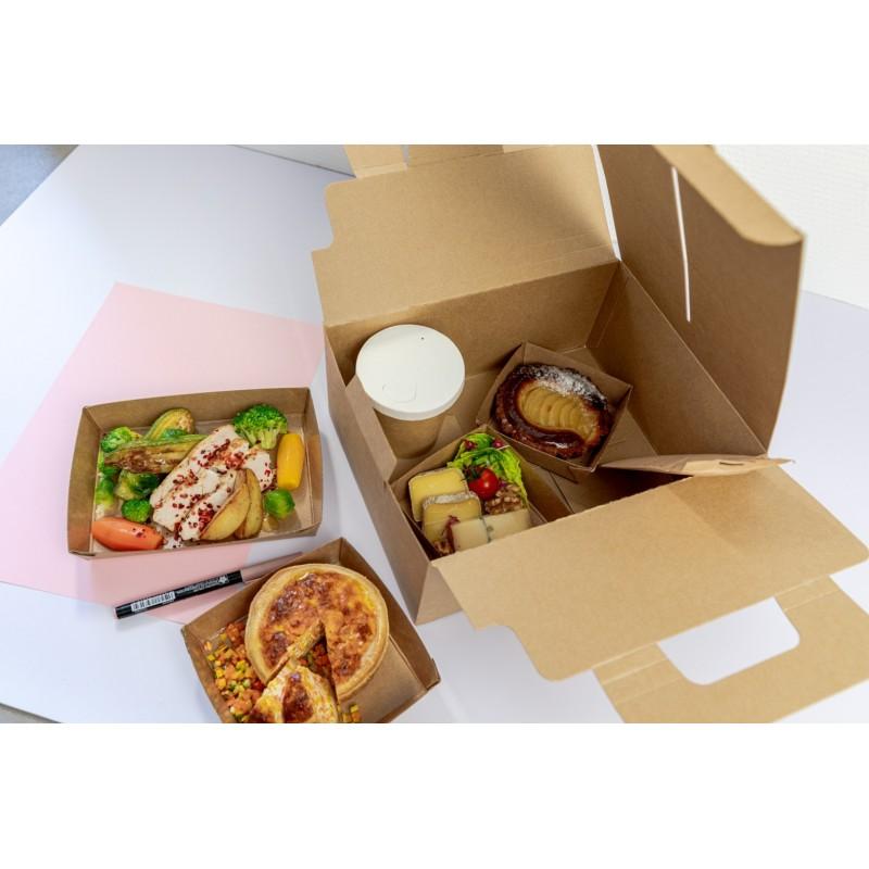 Assiette Fibre Carrée 160*160mm Karo Premium