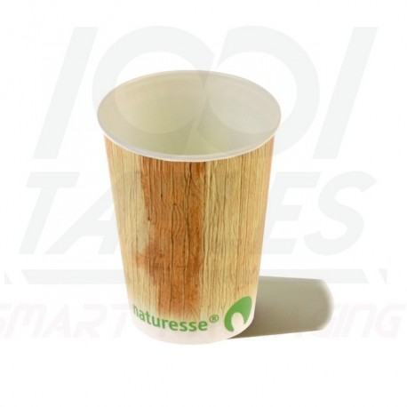 Gobelet Carton + PLA 25cl Décor Palmier 100% Biodégradable Premium