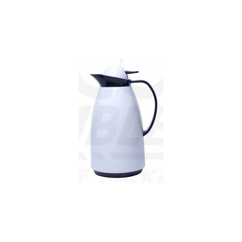 Thermos Bec Blanche 1 Avec Tables Bouteille Litre Verseur 1001 yYf7b6g
