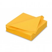 Serviette Airlaid 40x40cm Passion Yellow