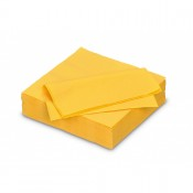 Serviette Papier Fiesta 40*40cm Passion Yellow