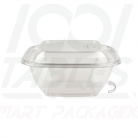 Saladier Carré Cristal 500ml