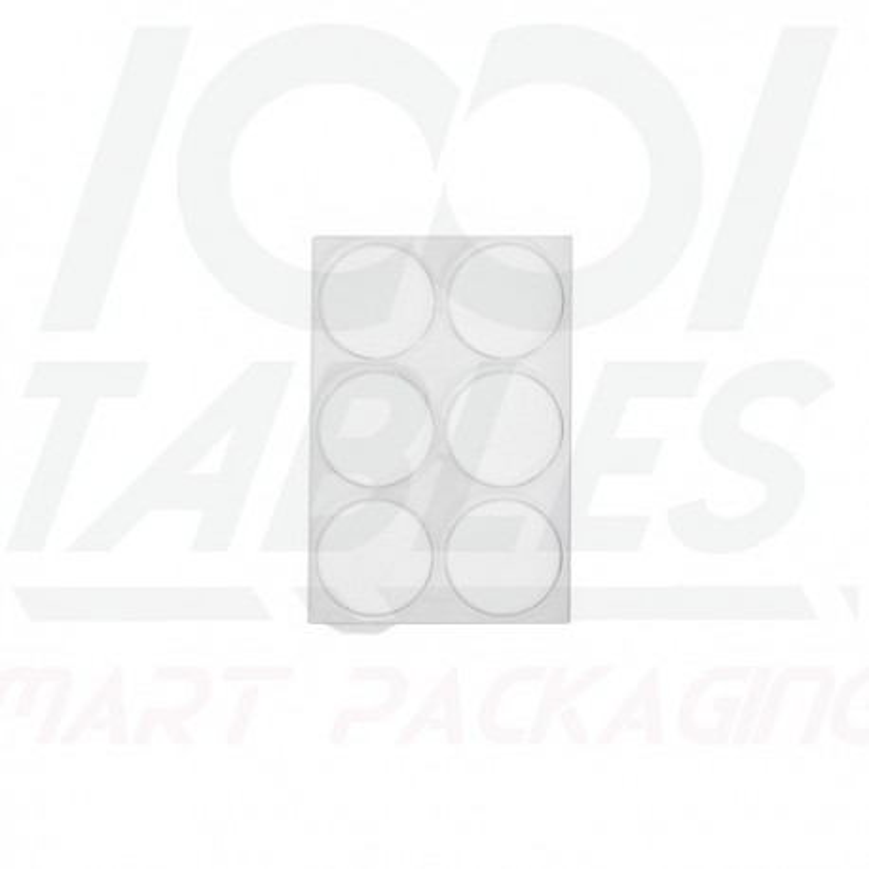 Couvercle Transparent 6 Plots pour WALL90