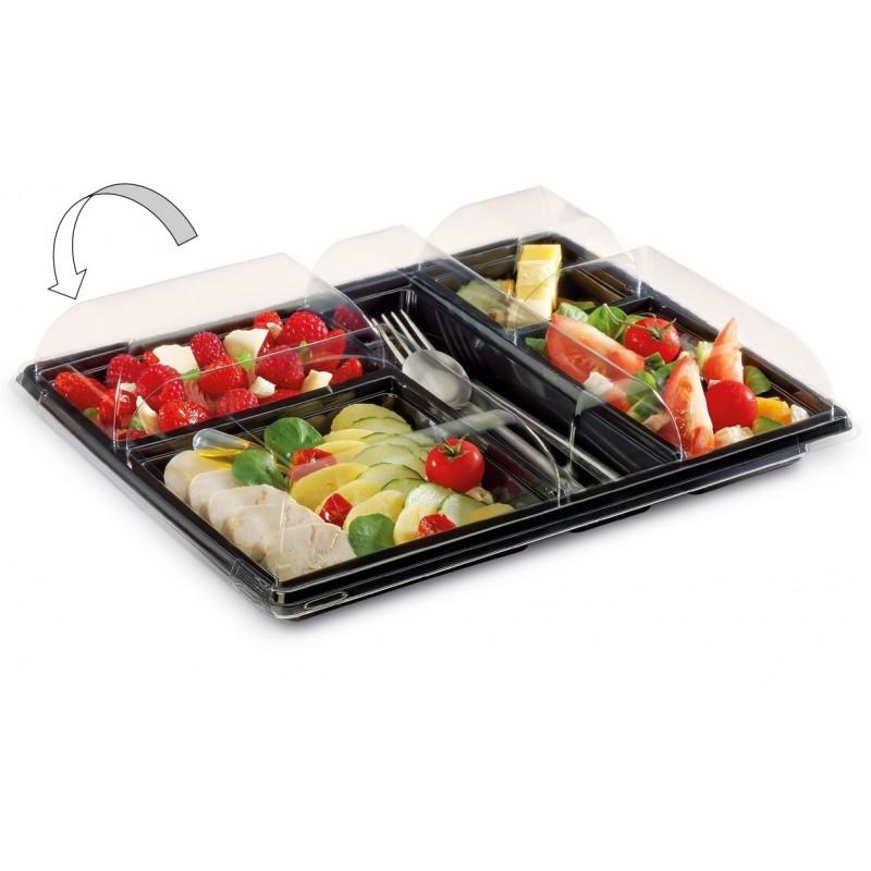 Assiette Diamant Noire 40ml